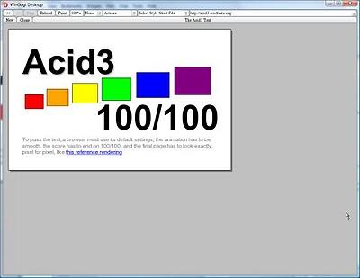 Opera public Acid3 build