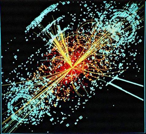 Ontstaan van een Higgs boson