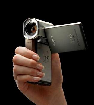 Sony HD TG3E kleine hd-camcorder