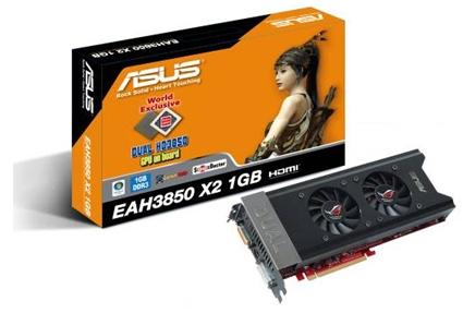 Asus Radeon HD3850 X2