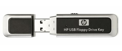 HP usb floppy drive key