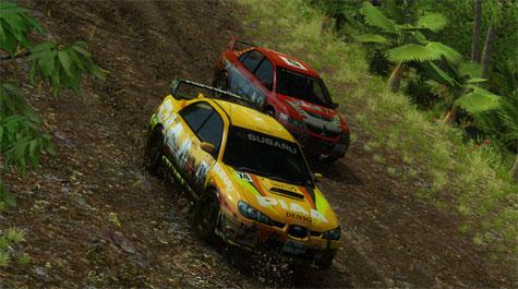 Sega Rally - screenshot