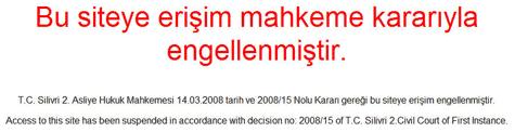 Turkse Google Groups-blokkade