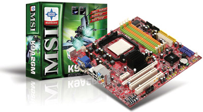 MSI K9A2GM/VM moderbord