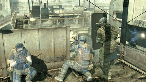 Metal Gear Online - screenshot