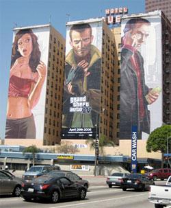 GTA IV promotie op hotel