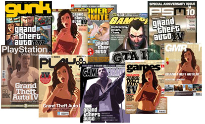 GTA IV magazine covers
