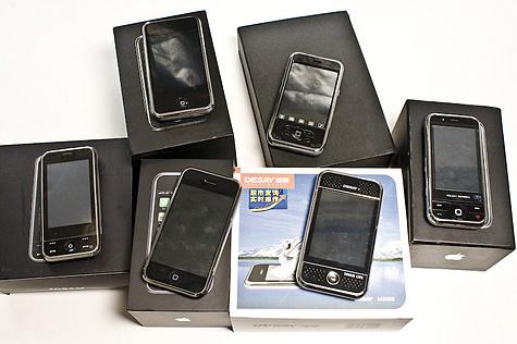 Verschillende iPhone-klonen
