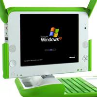 Olpc XO-laptop met XP