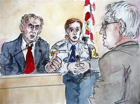 Hans Reiser in de getuigenbank