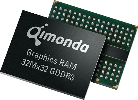 Qimonda gddr3-geheugen