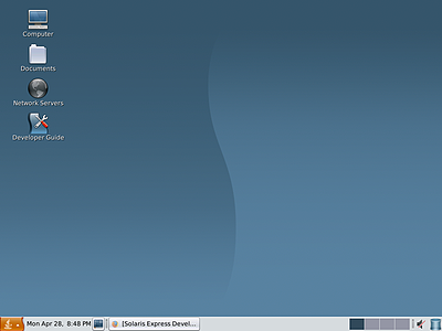 OpenSolaris desktop