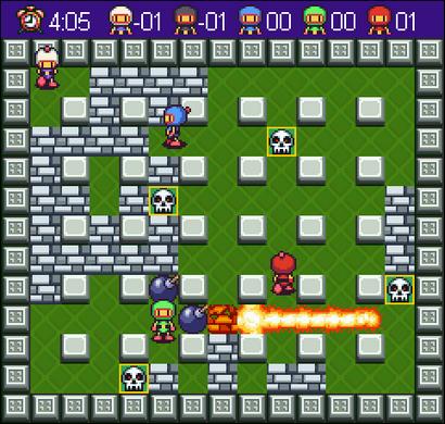 Bomberman screenshot (410 pix)