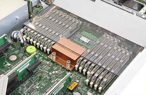 Sun T5220 cpu sockets en geheugenbanken