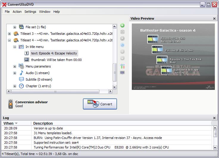 Software update convertxtodvd 3 0 beta computer for Convertxtodvd menu templates
