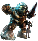 BioShock - Big Daddy en Little Sister