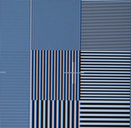 Panasonic TX-37LZD80F Video resolution loss test