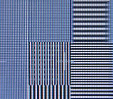 Panasonic TX-37LZD80F Film resolution loss test