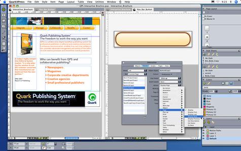 Quarkxpress 8.0 met Flash-authoring
