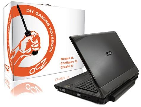 OCZ doe-het-zelf-laptop