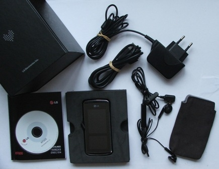 LG KF600 accessoires klein