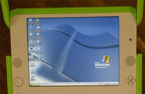 XO-laptop met XP Pro