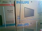 Philips tv in doos
