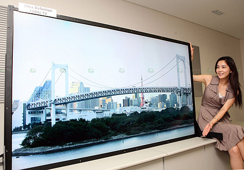 samsung demonstreert 82 lcd met pixels beeld en geluid nieuws tweakers. Black Bedroom Furniture Sets. Home Design Ideas