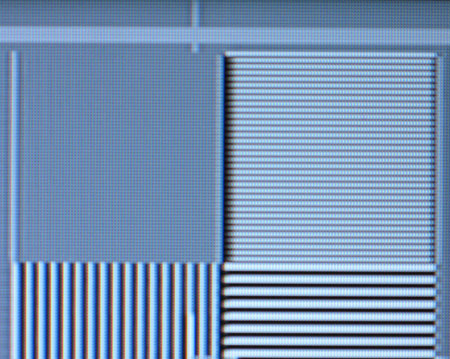 Samsung 40A656 Film resolution loss test