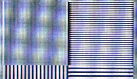 Philips 37PFL7603D Film resolution loss test