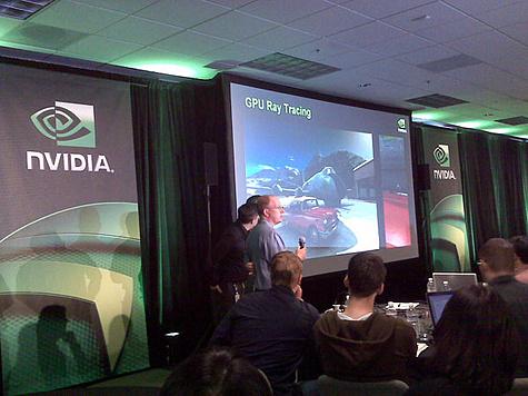 Nvidia toont ray-tracing