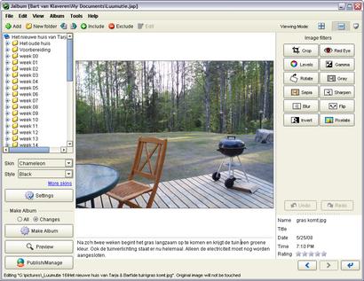 JAlbum 8.0.4 screenshot (410 pix)