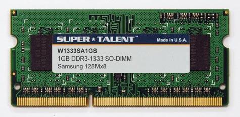 Super Talent ddr3-laptopgeheugen