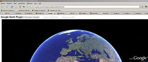 Google Earth plugin