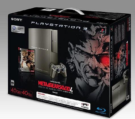 Playstation 3-bundel Metal Gear Solid 4