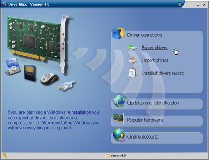 DriverMax 4.0 screenshot (410 pix)