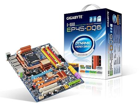 Gigabyte EP45 DQ6
