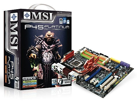 MSI P45 Platinum doos