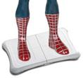 Spider-Man op Wii balance board
