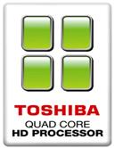 Toshiba Quad Core HD logo