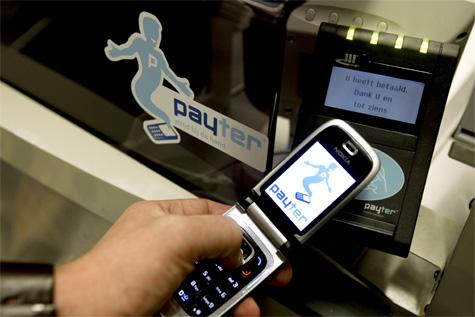 Contactloze betaling via Payter