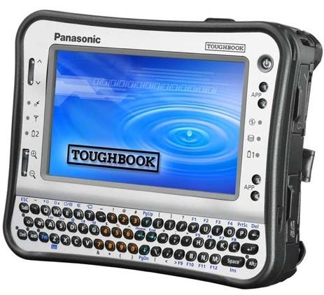 Panasonic Toughbook als mini-tablet met Atom-cpu