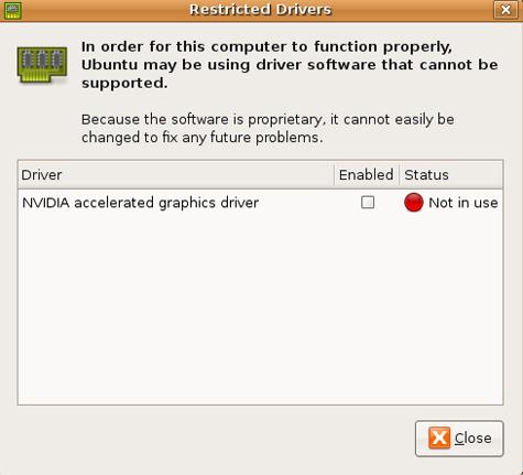 Nvidia-driver in Ubuntu