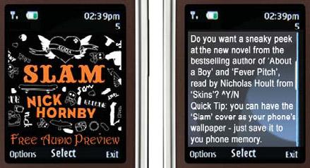 Blyk mobiele telefonie reclame