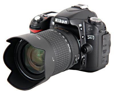 Nikon D80 18-135 Kit Zwart