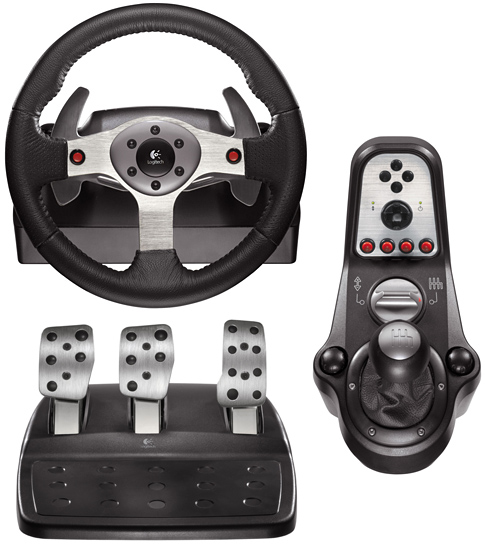 logitech g 25 racing wheel: