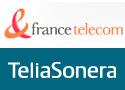 France Telecom Teliasonera logo's