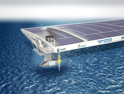 Delta Lloyd Solar Boat