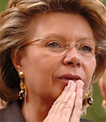 Viviane Reding Eurocommissaris