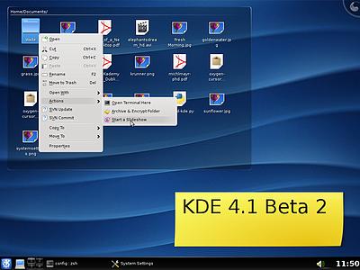 KDE 4.1 beta 2